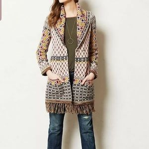 ANGEL OF THE NORTH SATPURA CARDIGAN/COAT SZ XS